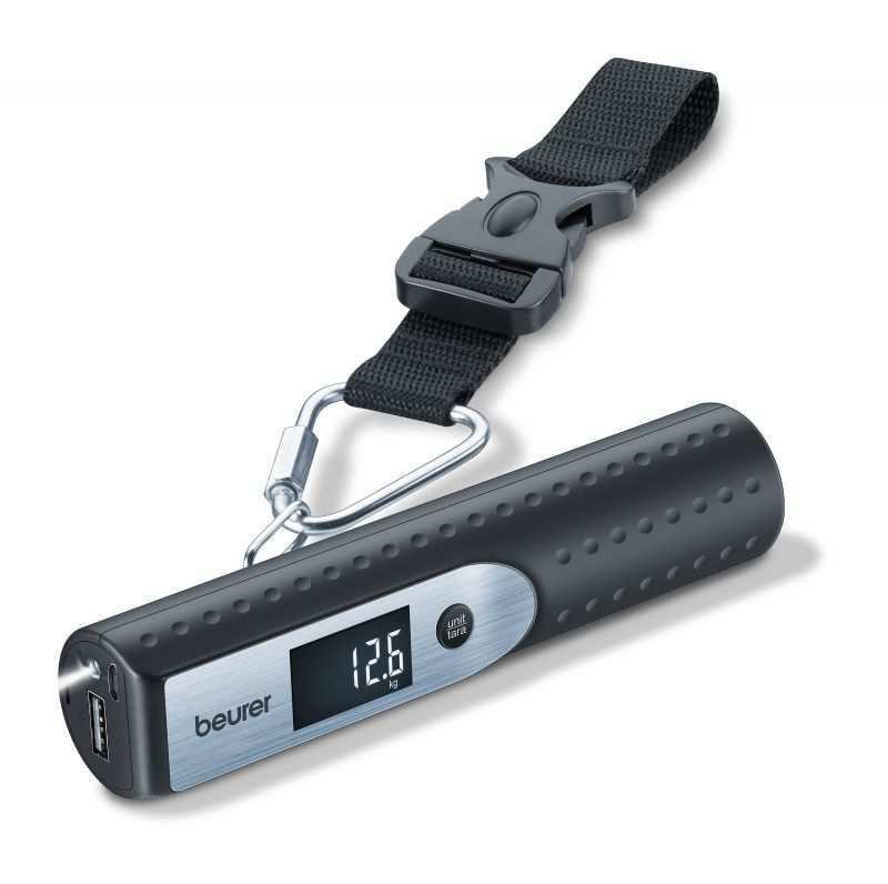 Электронный безмен Beurer LS50 3 in 1 Travelmeister (багажные весы)