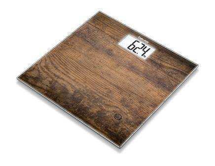 Beurer GS203 Wood Стеклянные весы