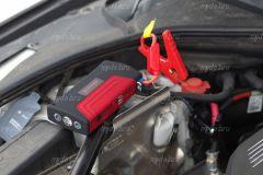 Портативное пуско-зарядное устройство для автомобиля High-Power TM15 (в красном корпусе, 16800 мА/ч) купить с доставкой по Москве и всей России.
