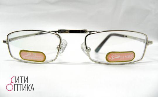 Складные очки с диоптриями  в футляре  Модель 6006