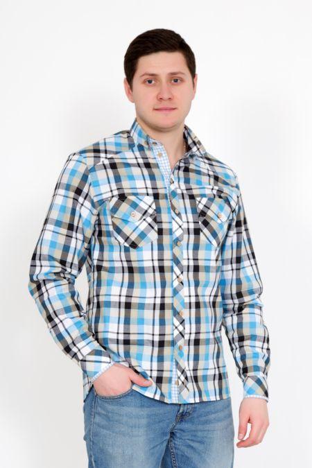 """Мужская рубашка """"Орел"""""""