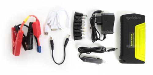 Портативное пуско-зарядное устройство для автомобиля Multifunctional Jump Starter High-Power TM15 Yellow (Желтый, 38000 мА/ч)