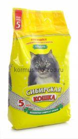 """Сибирская кошка комкующийся наполнитель """"Ультра"""""""
