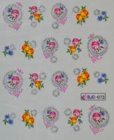 Водная наклейка для дизайна ногтей BJC - 073
