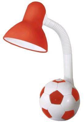 Светильник настольный TDM футбольный мяч E27 40W красно-белый SQ0337-0049