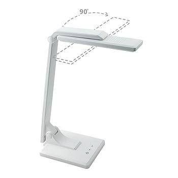 Светильник настольный СТАРТ СТ50 21LED 10W 5800K 6K (310lm), сенсор с диммером, белый/пластик