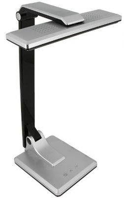 Светильник настольный СТАРТ СТ50 21LED 10W 5800K 6K (310lm), сенсор с диммером, серебро/пластик
