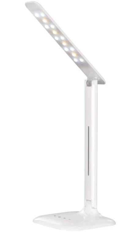 Светильник настольный SmartBuy св/д 7W 3K-5K 150х150х330мм 5 ярк (сенс.диммер) белый SBL-DL-7-NW5-S-White