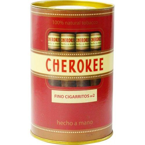 Сигариллы Cherokee Fino Cigarritos №2 туба 35 шт.