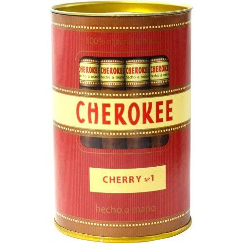 Сигариллы Cherokee Cherry №1 туба 35 шт.
