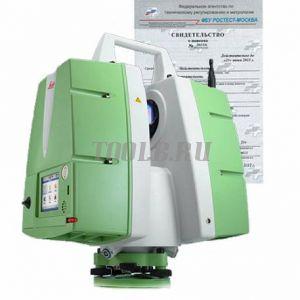 Поверка лазерного сканера