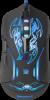 Проводная игровая мышь Bionic GM-250L оптика,6кнопок,800-3200dpi