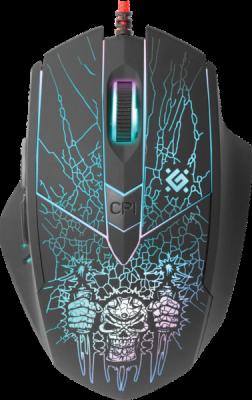 Проводная игровая мышь Doom Fighter GM-260L оптика,6кнопок,800-3200dpi