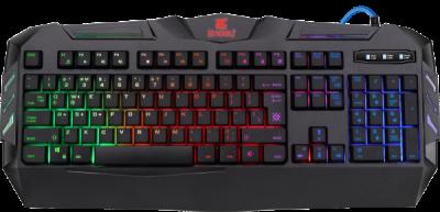 Проводная игровая клавиатура Werewolf GK-120DL RU,RGB подсветка,19 Anti-Ghost