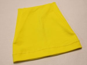 `Шапка трикотажная, размер 44-46 (20*19 см), цвет желтый, Арт. Р-ПВ0051