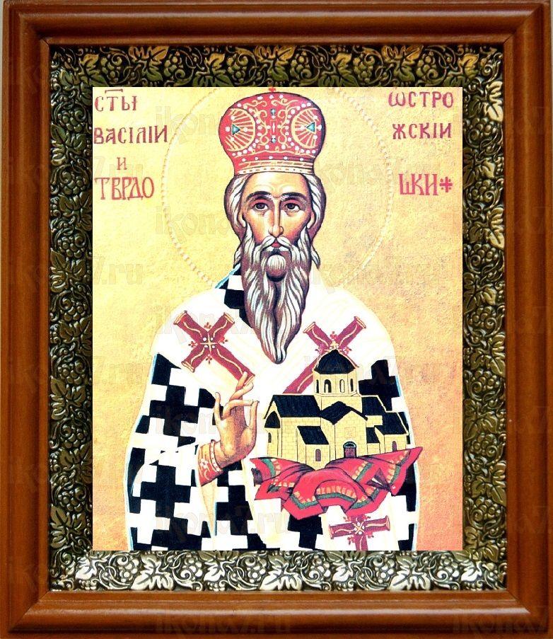 Василий Острожский (19х22), светлый киот
