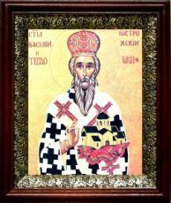 Василий Острожский (19х22), темный киот