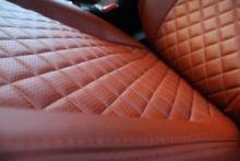"""Чехлы на сиденья, экокожа, строчка """"Ромб"""", цвета на выбор"""