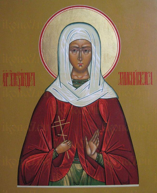 Александра Амисийская (Понтийская) (рукописная икона)