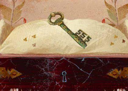 Открытка «Ключ»