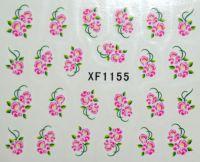 Водная наклейка для дизайна ногтей XF 1155