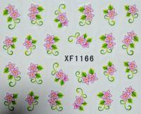 Водная наклейка для дизайна ногтей XF 1166