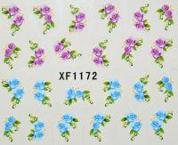 Водная наклейка для дизайна ногтей XF 1172