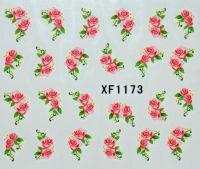 Водная наклейка для дизайна ногтей XF 1173
