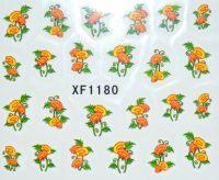 Водная наклейка для дизайна ногтей XF 1180