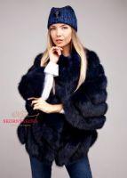 Шуба накидка куртка из куницы купить пошить в Москве фотоавтоледи