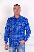 Мужская фланелевая рубашка