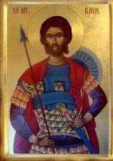 Дасий Никомидийский  (рукописная икона)