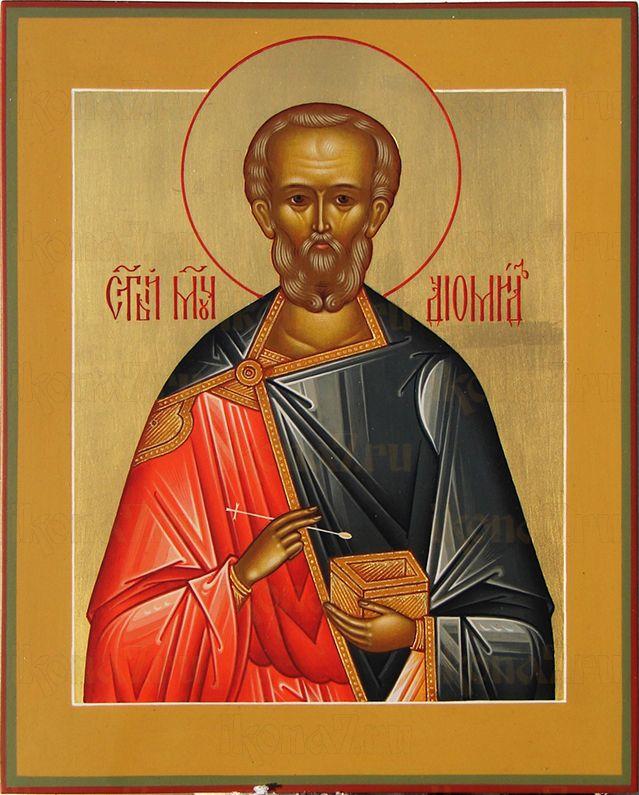 Диомид Тарсянин (Никейский)  (рукописная икона)