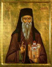 Дионисий Олимпийский (рукописная икона)