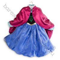 Платье костюм Анны Холодное сердце Люкс рост 116