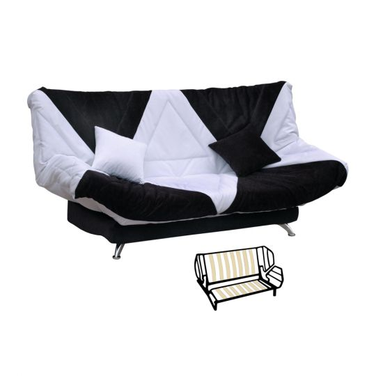 Диван клик-кляк Сантери с подушками