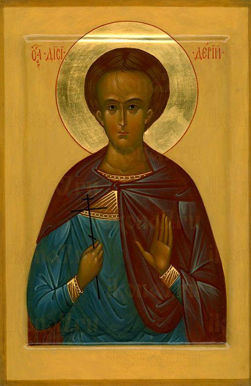Дисидерий Путеольский  (рукописная икона)