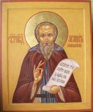 Агапит Маркушевский (рукописная икона)