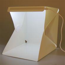 Портативный лайткуб для предметной фотосъёмки 23x23x23cm