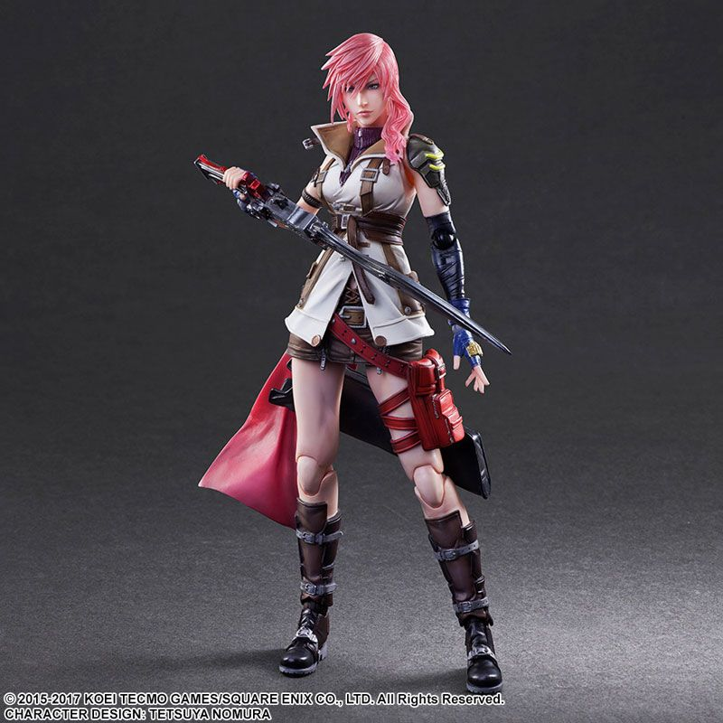 Фигурка Final Fantasy - Play Arts Kai Lightning