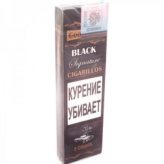 Сигариллы Good Times cigarillos Black Signature