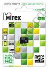 Карта памяти micro SDHC 16GB Mirex Class 10 без адаптера