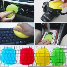 Очищающий гель для клавиатуры, фототехники, приборной доски