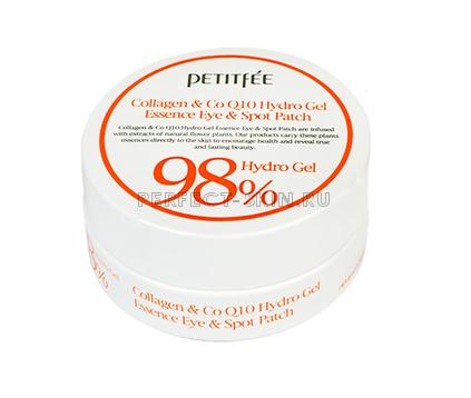 Petitfee Collagen & Co Q10 Hydrogel Essence Eye & Spot Patch