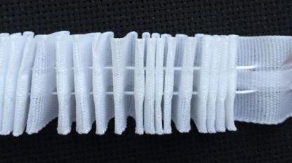 Тесьма шторная(лента) узкая х/б