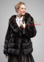 Куртка полушубок из соболя пошив на заказ отзывы фото бренд