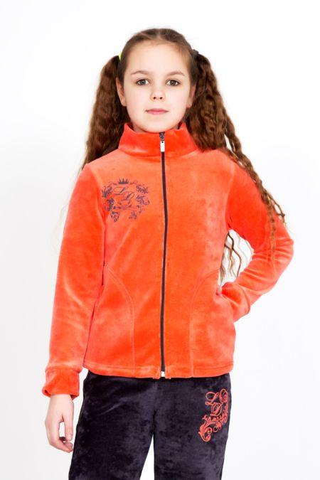 """Детский велюровый костюм """"Принцесса Оранж"""""""