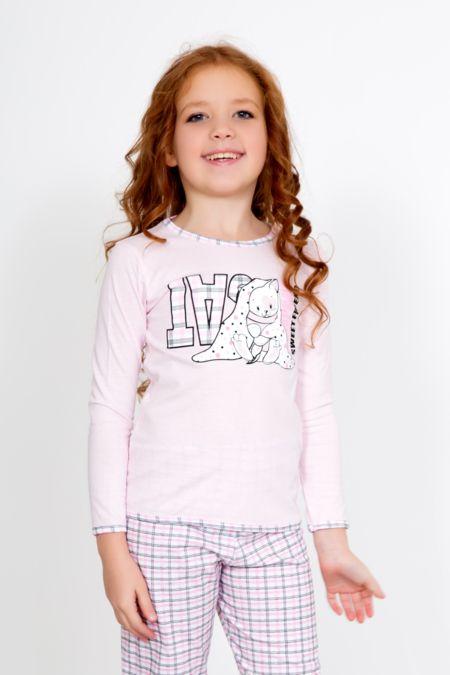 """Детская пижама """"Яна розовая"""""""