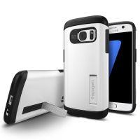Чехол Spigen Slim Armor для Samsung S7 белый