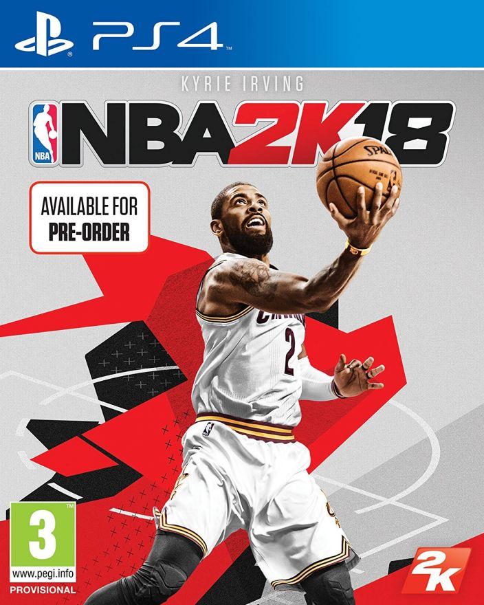 Игра NBA 2K18 (PS4)